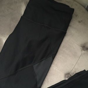 90 degree black leggings